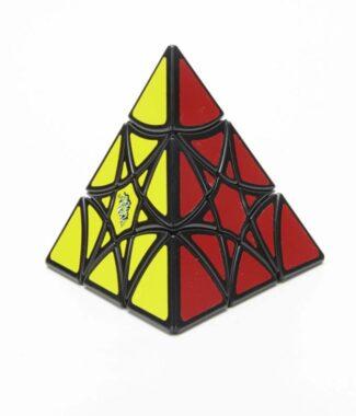 藍藍六角星 魔術方塊 異形 藍藍 六角星 魔方 6角星 金字塔 變形 黑底 益智玩具
