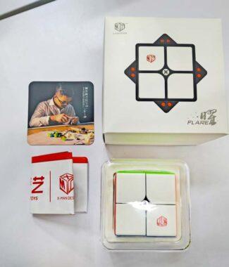 曜二階 奇藝魔方格XMD 2階 魔術方塊 速解 魔方 磁力可調 磁鐵 益智玩具曜 二階附解法書