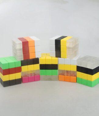 銘浩之 334 337 不等階 魔術方塊 混彩 拼裝 異形 C4U 玩具 魔方
