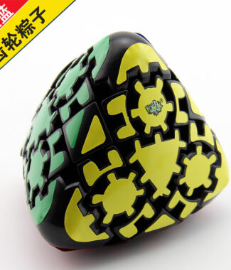 【小小店舖】藍藍粽子 齒輪魔方 齒輪異形魔術方塊 益智休閒玩具魔方   黑色