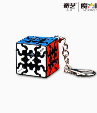 【小小店舖】奇藝  齒輪魔方鑰匙圈  3CM 可拆式  魔方格 小齒輪迷你  可愛 魔方掛件
