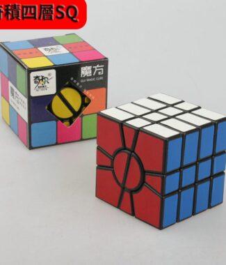 奇積四層 SSQ 黑色 奇蹟 QJ 2層 4層 二層 SQ 異形 變形 不等階 魔術方塊 益智玩具
