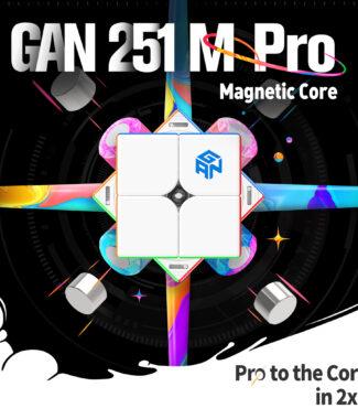 gan 251M leap 淦源 魔術方塊 磁力 251 M 二階 魔方 2階 速解 霧面版