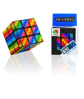 泛新 彩虹 三階 3階 魔術方塊 造型 魔方 彩虹三階 益智玩具