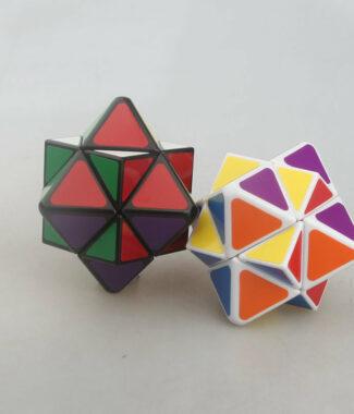 藍藍 狼牙 四軸八面體 魔術方塊 異形 魔方 puzzles 魔星 狼牙魔星